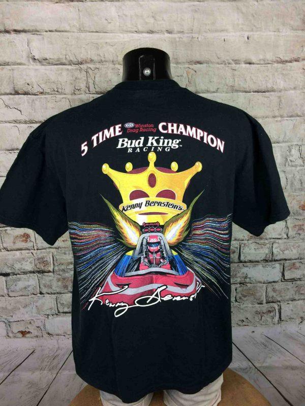 IMG 0007 scaled - KENNY BERNSTEIN T-Shirt Vintage 2000 Bud King