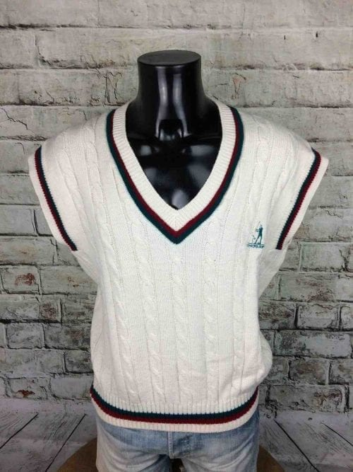 DUNLOP Pullover Vintage 80s Made Italy Laine - Gabba Vintage