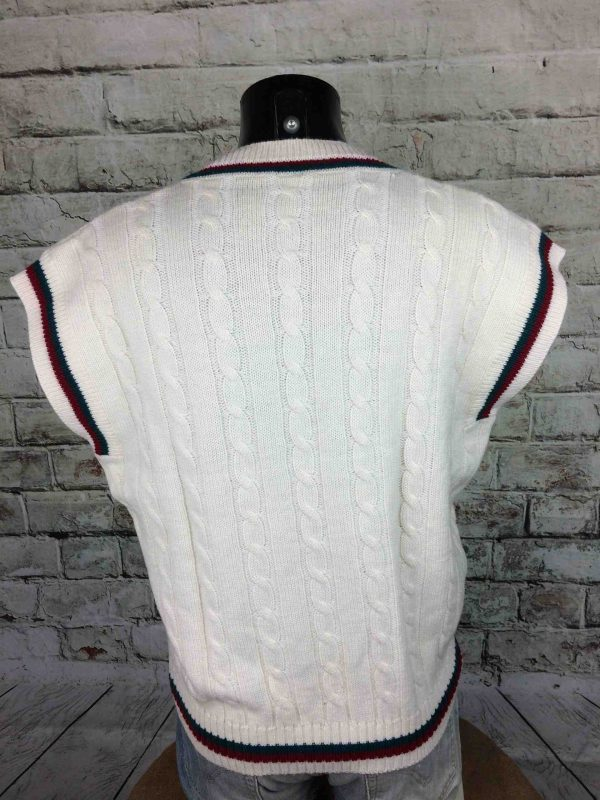 IMG 9409 scaled - DUNLOP Pullover Vintage 80s Italy 50% Wool
