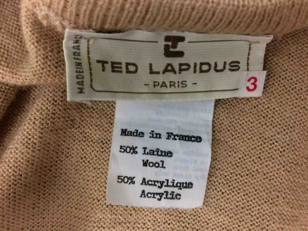 IMG 9609 scaled e1582121262549 - TED LAPIDUS Pullover France Vintage 90s Wool