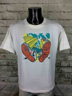BANCAIXA T Shirt Fresquit Made in Spain 80s - Gabba Vintage
