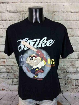 TAZ T-Shirt Strike Vintage 90s Looney Tunes - Gabba Vintage