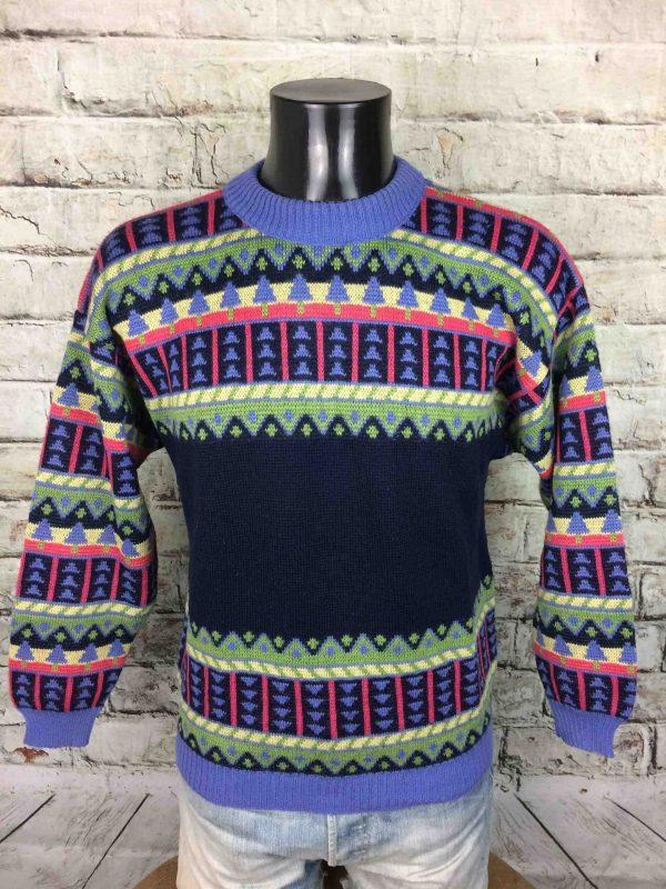 IMG 9698 scaled - MARESE Pullover France Vintage 90s 30% Wool
