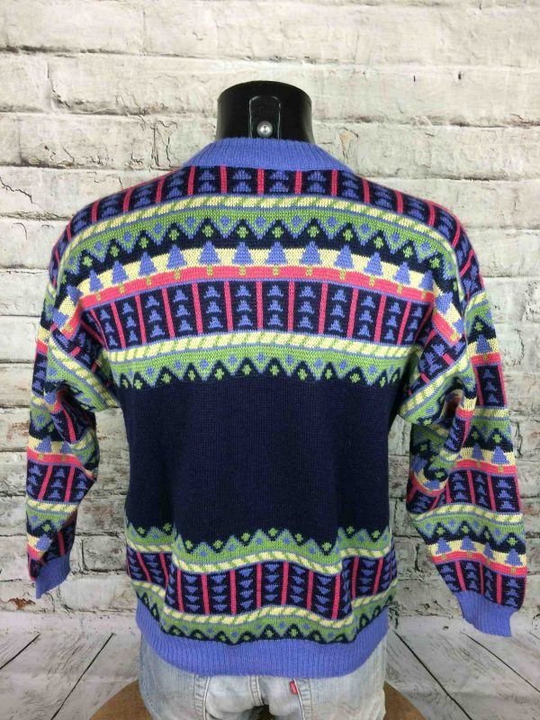 IMG 9701 scaled - MARESE Pullover France Vintage 90s 30% Wool
