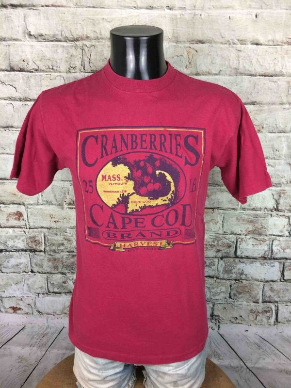 IMG 9737 scaled - CRANBERRIES CAPE COD T Shirt USA Vintage 90s