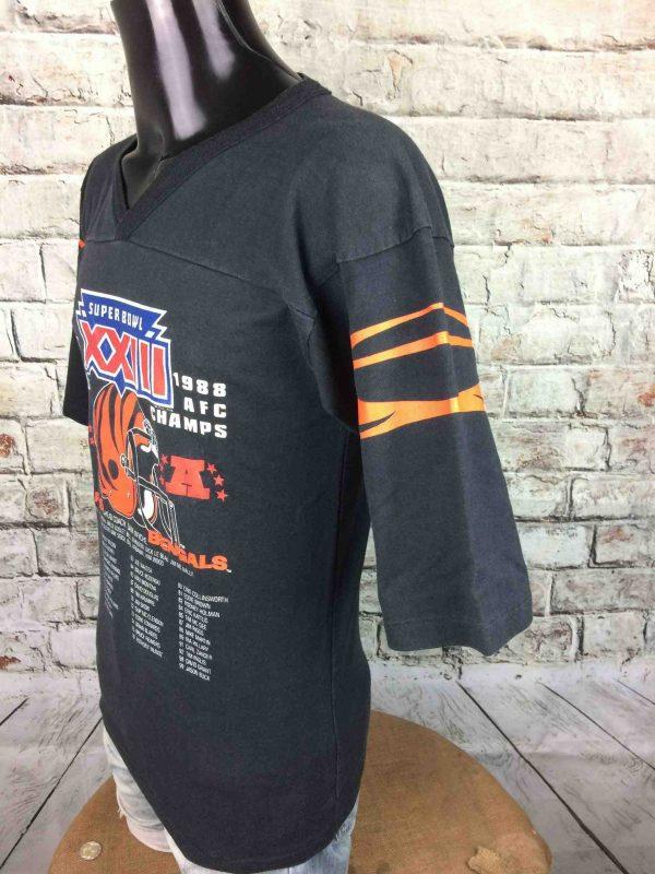 IMG 9743 scaled - CINCINNATI BENGALS T-Shirt Super Bowl 1988