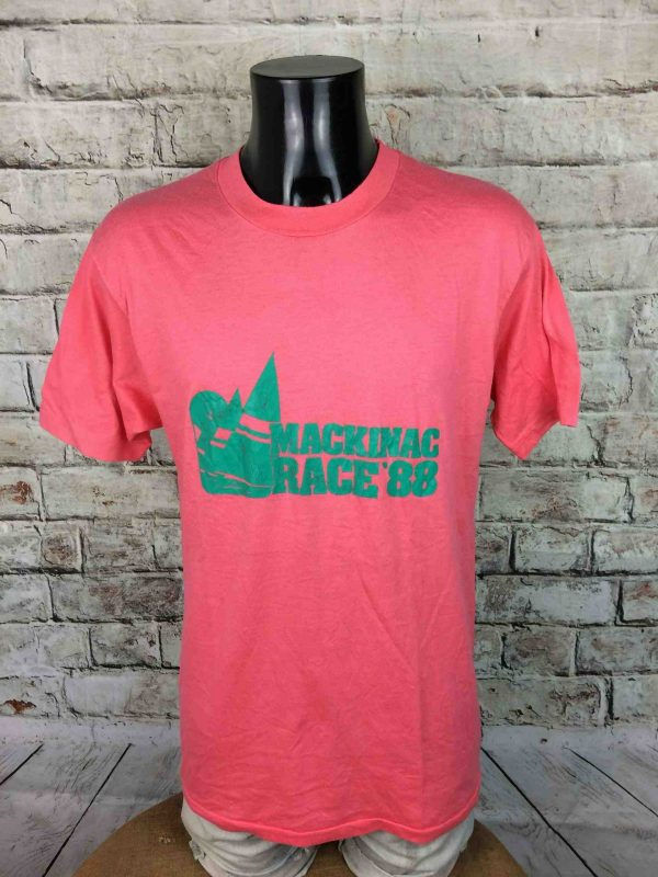 IMG 9811 scaled - MACKINAC RACE 88 TShirt USA True Vintage 80s