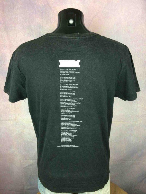 BEATLES T Shirt Ticket To Ride Vintage 1993 Gabba Vintage 4 scaled - BEATLES T-Shirt Ticket To Ride Vintage 1993