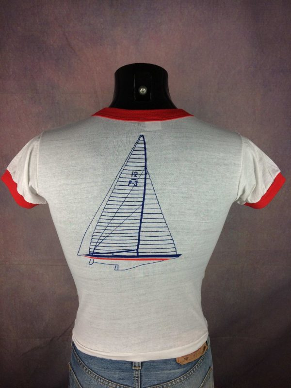 FRANCE 3 T Shirt Vintage Newport 1980 Neuf Gabba Vintage 2 - FRANCE 3 T-Shirt Vintage Newport 1980 Neuf