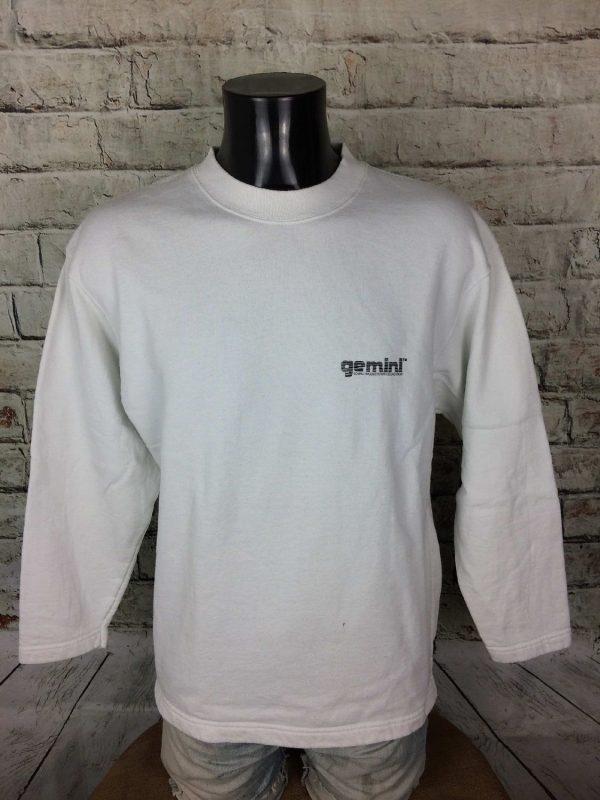 GEMINI Sweatshirt Mixing Promo Vintage 90s Gabba Vintage 2 - GEMINI Sweatshirt Mixing Promo Vintage 90s