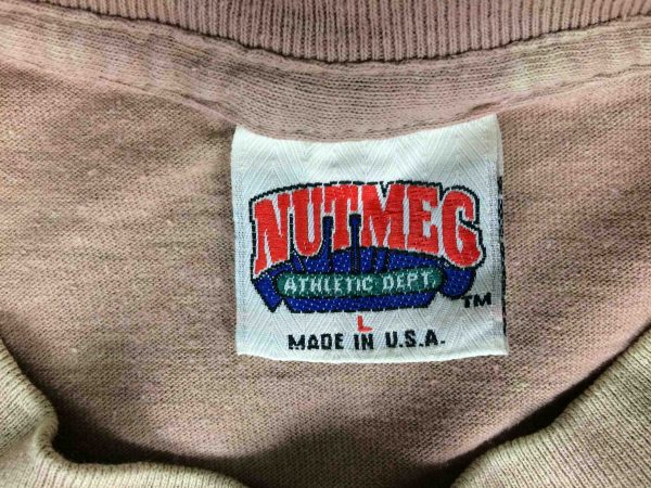GIANTS T Shirt Made in USA Vintage Nutmeg Gabba Vintage 1 scaled - GIANTS T-Shirt Made in USA Vintage Nutmeg