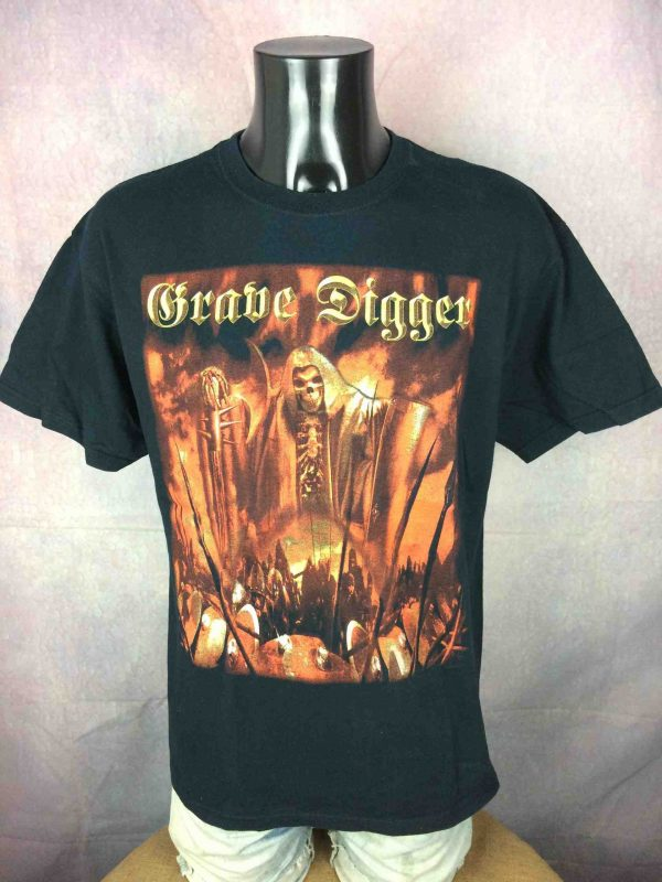 Grave Digger T Shirt Liberty Or Death 2007 Gabba Vintage 2 scaled - Grave Digger T-Shirt Liberty Or Death 2007