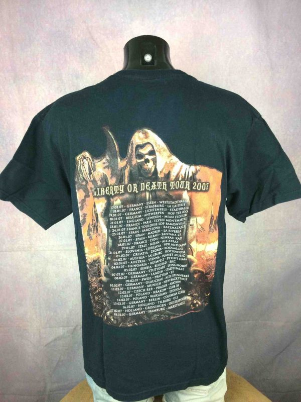 Grave Digger T Shirt Liberty Or Death 2007 Gabba Vintage 4 scaled - Grave Digger T-Shirt Liberty Or Death 2007