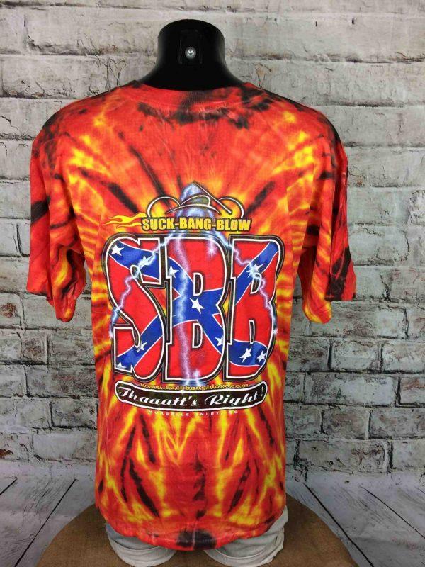 IMG 0061 scaled - SUCK BANG BLOW T-Shirt Tie Dye Vintage 00s