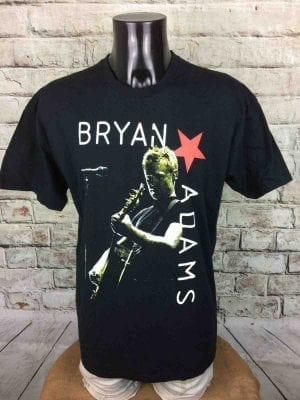 BRYAN ADAMS T Shirt Tour 2006 Europe Double Sided Dates Live Concert BA Star