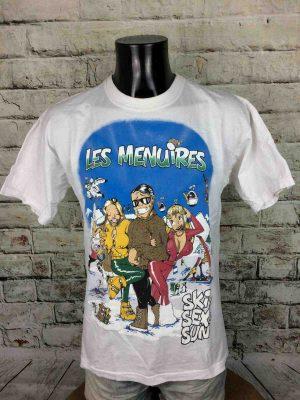 LES MENUIRES T-Shirt Vintage 80s Ski Sex Sun - Gabba Vintage