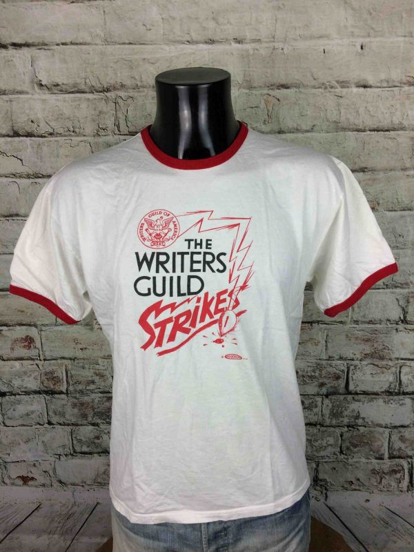 IMG 0157 scaled - THE WRITERS GUILD STRIKES TShirt Vintage 1981