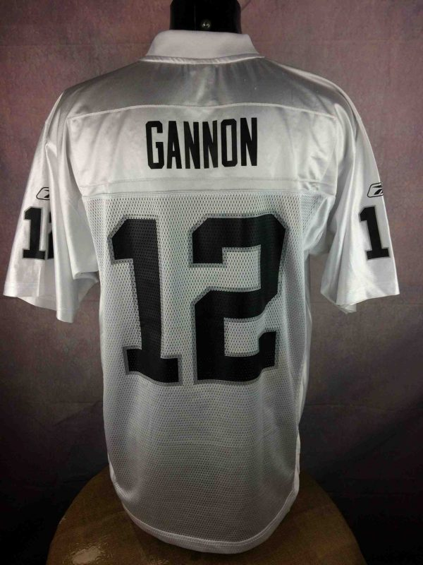 IMG 0313 scaled - Oakland Raiders Jersey Maillot Gannon 2002