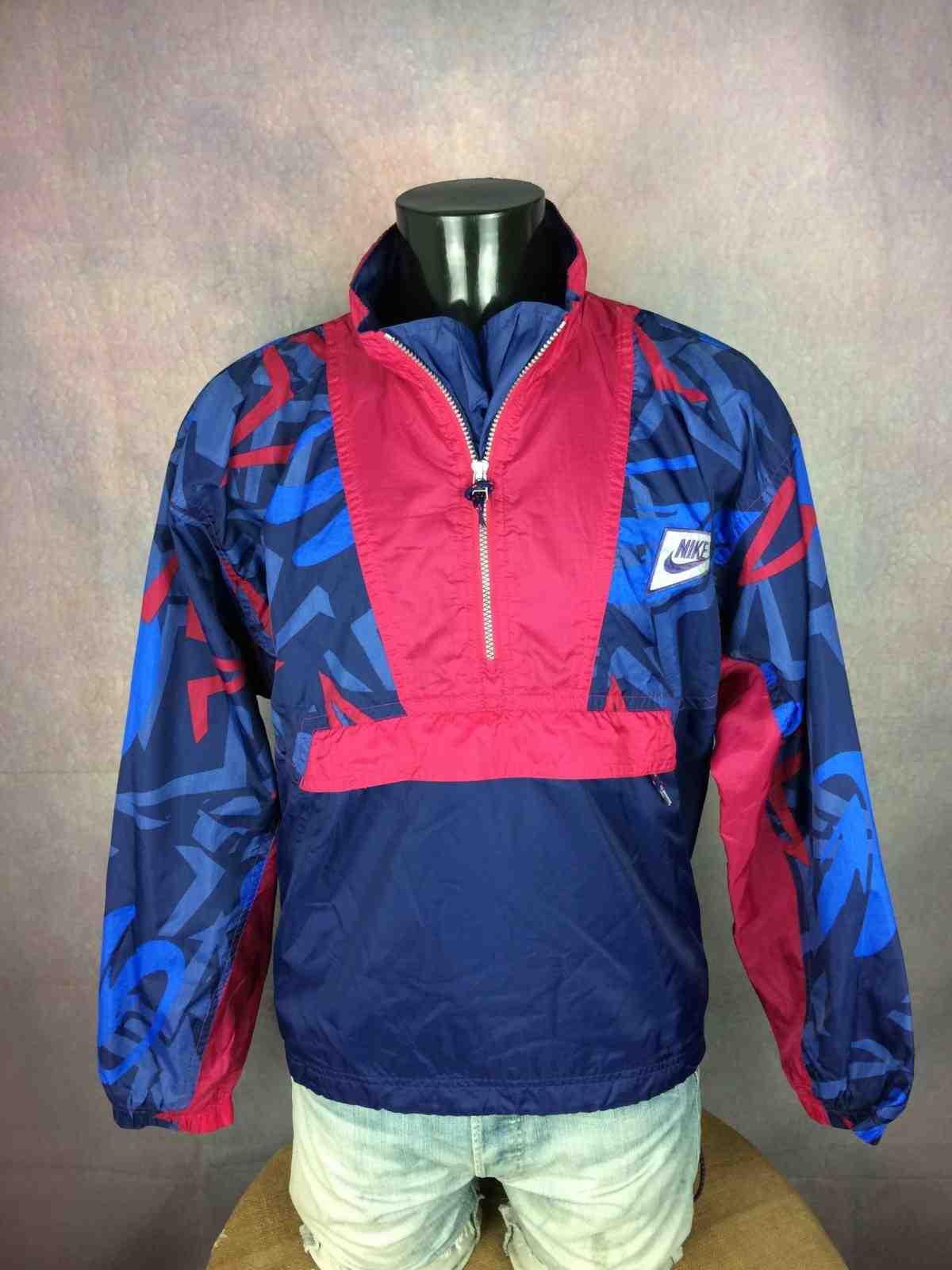 Veste Nike Premier Vintage track jacket bleu rouge Vinted