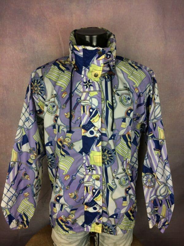 IMG 0355 scaled - DAMART Rain Jacket True Vintage 90s Design
