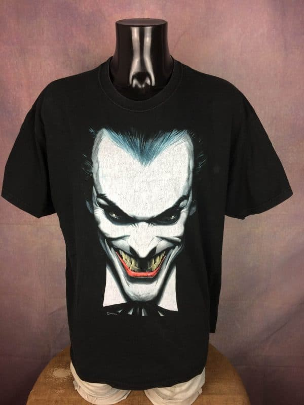 IMG 0360 compressed scaled - JOKER T Shirt Batman DC Comics Vintage 90s