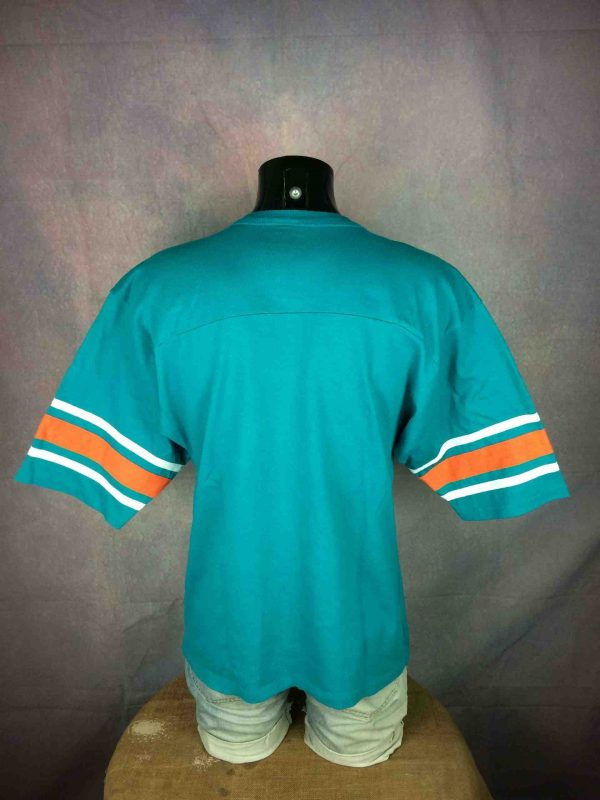 IMG 0543 compressed scaled - MIAMI DOLPHINS T-Shirt Vintage 90s 1995 NFLP