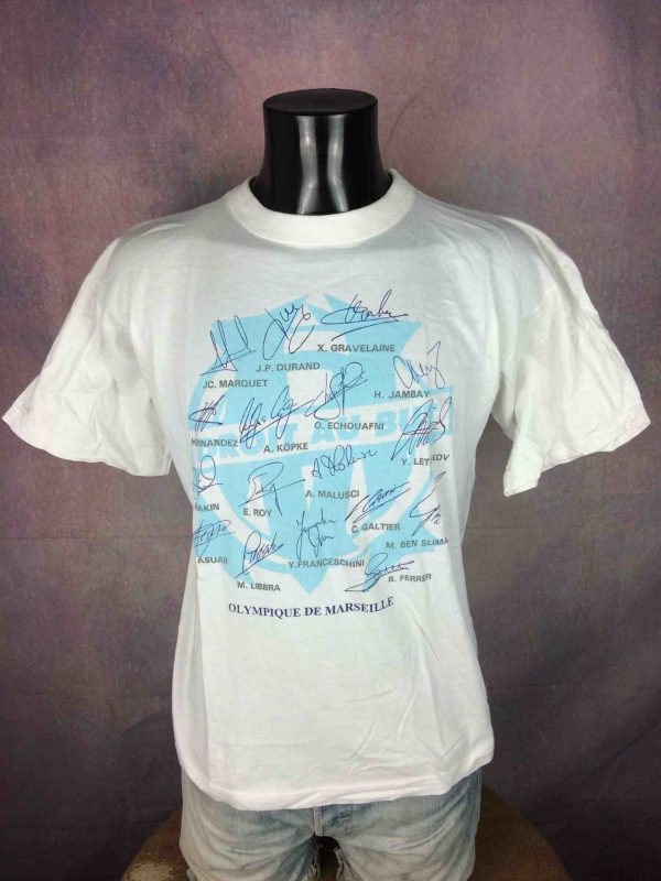 IMG 0544 compressed scaled - MARSEILLE T-Shirt Composition 1996 OM Vintage