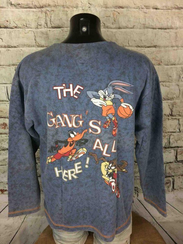 IMG 0833 compressed scaled - TAZ SweatShirt The Gang Vintage 1994 Warner