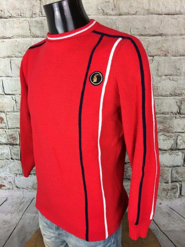 IMG 0846 compressed scaled - COURTELLE Pullover Vintage 80 Made in France