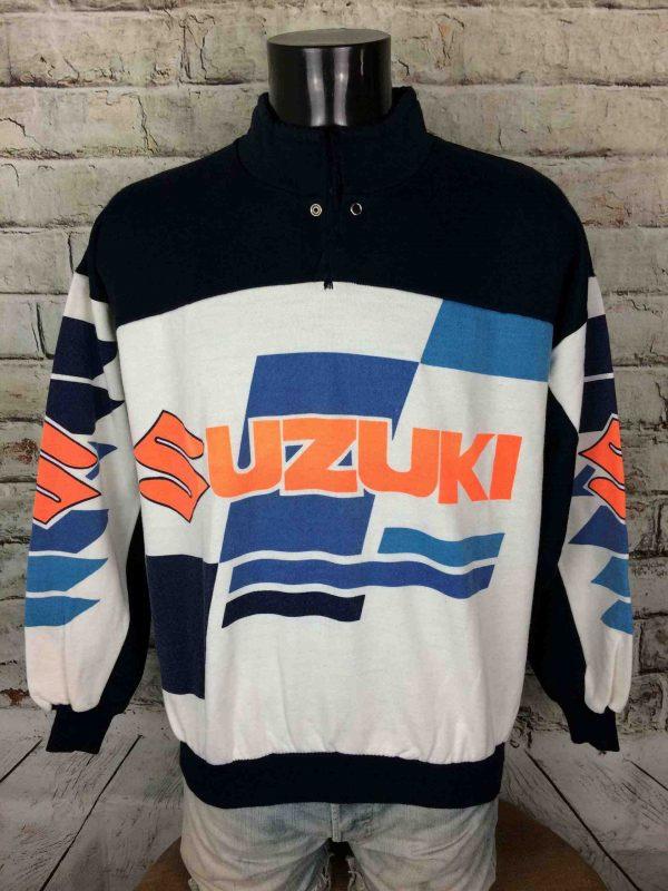 IMG 0882 compressed scaled - SUZUKI Team Sweatshirt Vintage 90s Motors