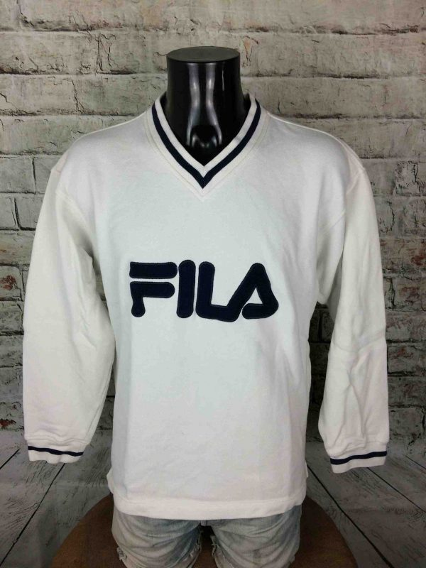 IMG 0902 compressed scaled - FILA Sweatshirt Vintage 90s Made in Malaysia
