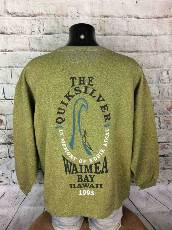 IMG 0936 compressed scaled - QUIKSILVER Sweatshirt Aikau Vintage 1993