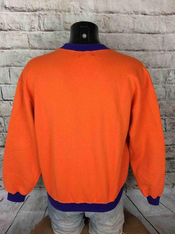 IMG 0963 compressed scaled - NAF NAF SweatShirt True Vintage 90s Orange