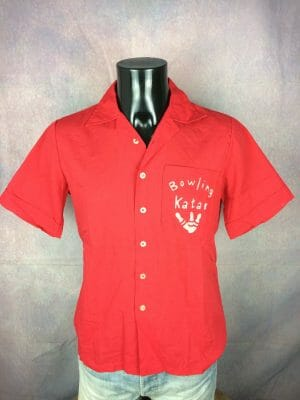 STANLEY CUP FINALS Chemise Shirt Vintage 70s