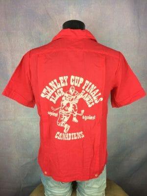STANLEY CUP FINALS Camisa Chemise Shirt Vintage 70s