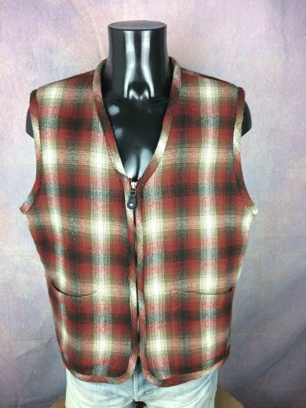 RECORD Clothing Comp. Gilet Vest Vintage 90s