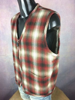 RECORD Clothing Comp. Gilet Vest Vintage 90s