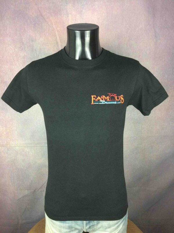 Famous Drums T-Shirt Beatles Led Vintage 90s