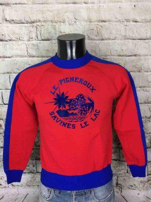 LE PIGNEROUX SweatShirt Vintage 80s Montalp - Gabba Vintage