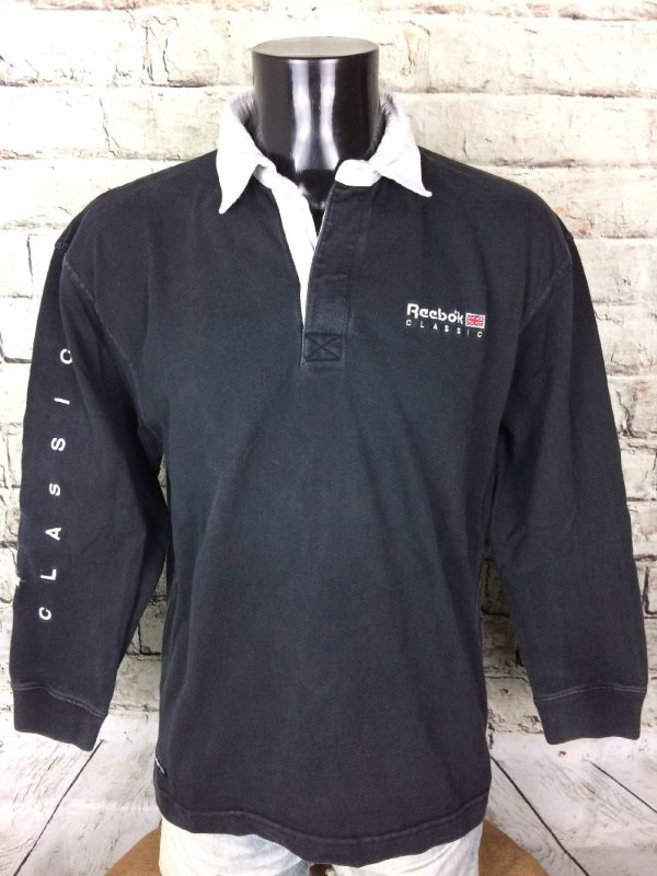 Reebok Polo Vintage Année 90s Classic England