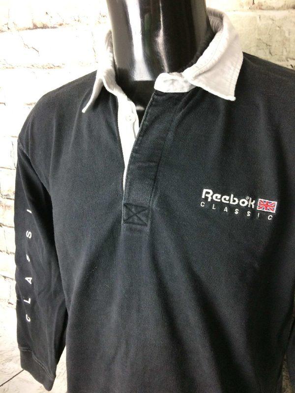 Reebok Polo Vintage Annee 90s Classic England 3 - Reebok Polo Vintage Année 90s Classic England