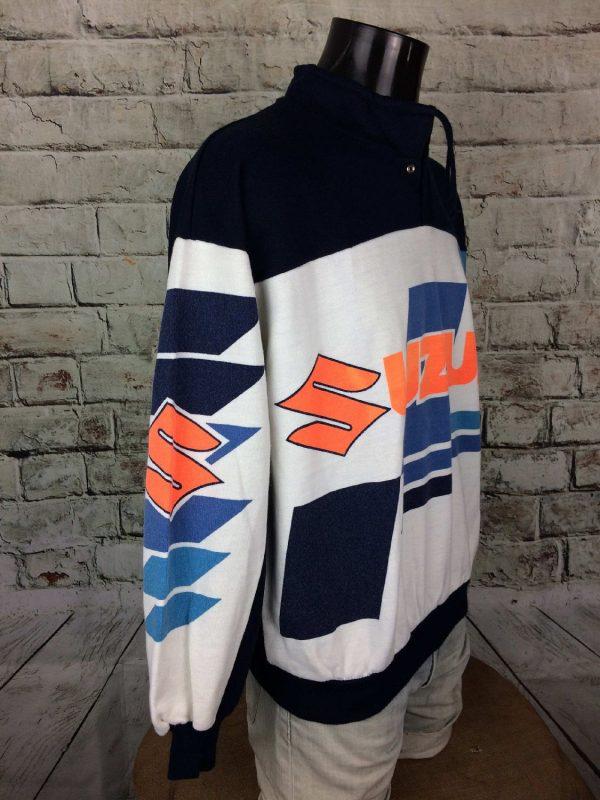SUZUKI Team Sweatshirt Vintage 90s Motors Gabba Vintage 3 - SUZUKI Team Sweatshirt Vintage 90s Motors