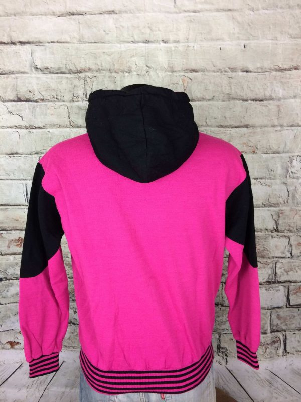 TIM SweatShirt Vintage 90s Made in France Gabba Vintage 4 - TIM Sweat Vintage 90s Made in France Rose