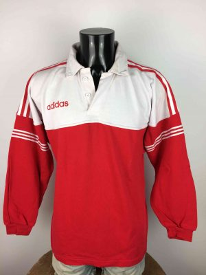 ADIDAS Jersey Maillot Vintage 90s Rugby - Gabba Vintage