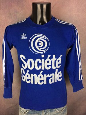ADIDAS Maillot Société Générale Vintage 80s - Gabba Vintage