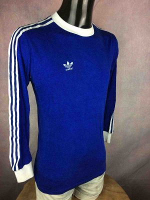 ADIDAS Maillot Vintage 70s West Germany Made - Gabba Vintage