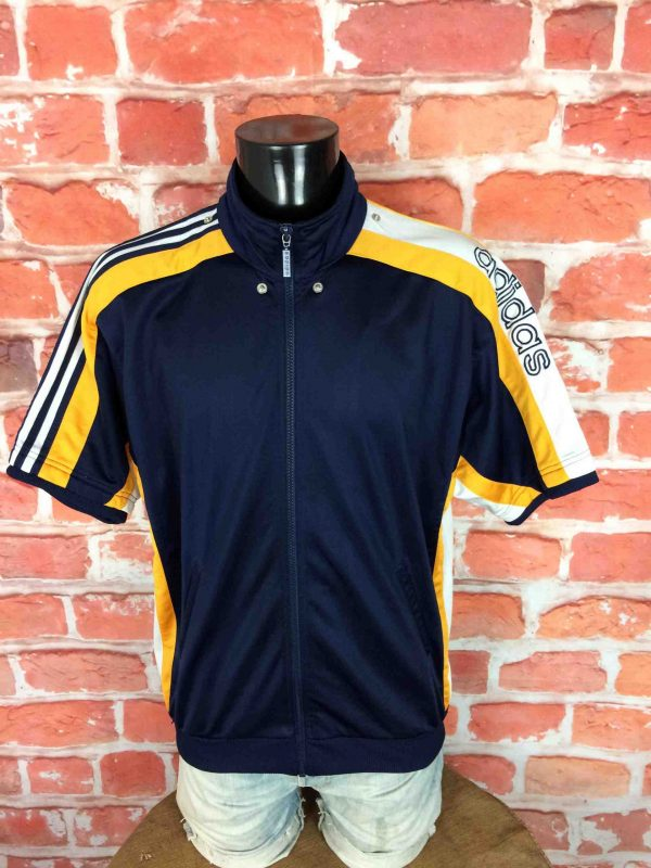 ADIDAS Veste Short Sleeve Vintage 90s Basket - Gabba Vintage