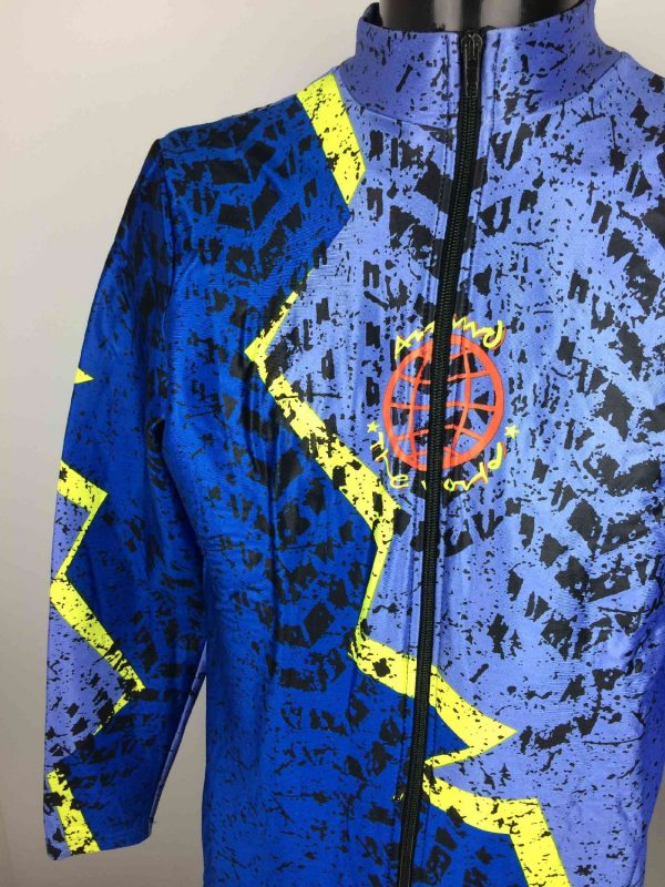 AROUND THE WORLD Veste VTG 90s Made in Italy Gabba Vintage 2 resultat - AROUND THE WORLD Veste Vintage 90s Made Italy
