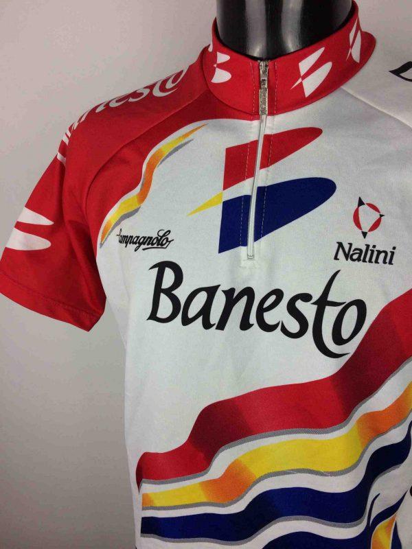 BANESTO Maillot 1997 Nalini Vintage 90s - Gabba Vintage