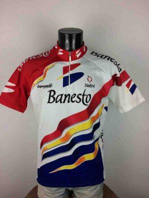 BANESTONalini Campagnolo Team, Saison 1997, Véritable Vintage années 90s, Tour de France, Jersey Cyclisme Eroica